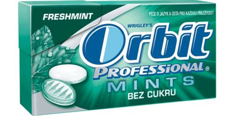 Bonbóny Orbit Professional Mints